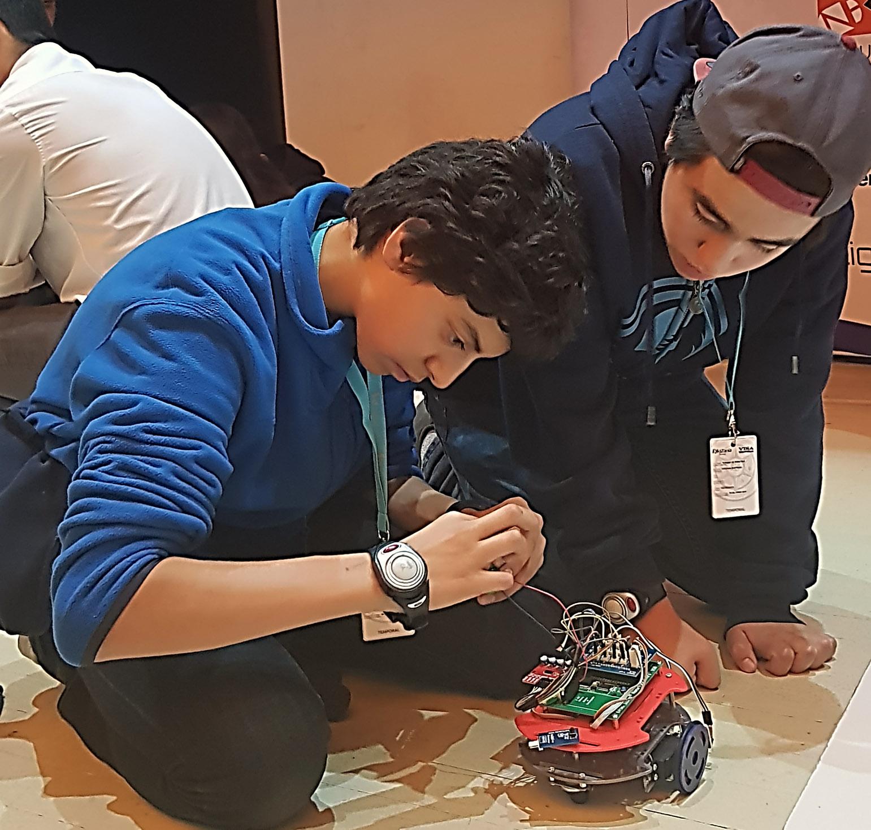 Preparando Robot
