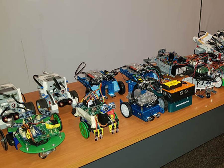 Robot en competencia