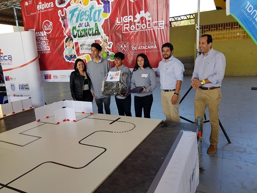 Torneo Robótica Copaipó, octubre 2018