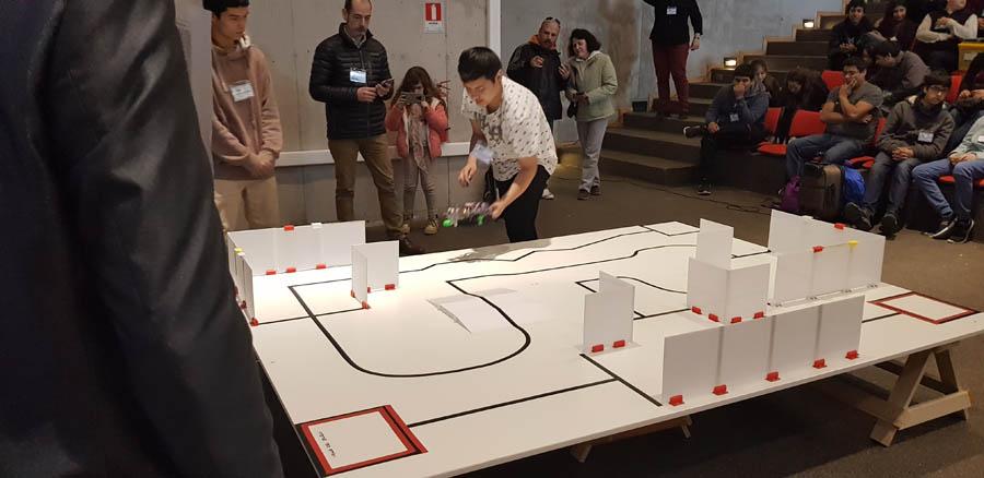 Torneo Robótica Universidad Santo Tomás, agosto 2018